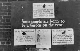 Pro Eugenics poster circa 1926
